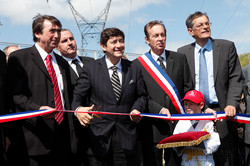 Inauguration d'une route