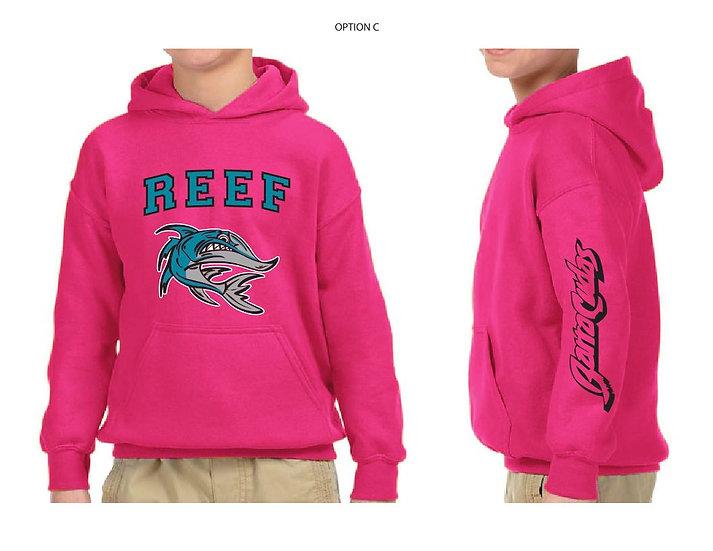 Pink Barracuda Hoodie
