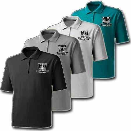 Male Uniform Polo - Shield