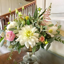 Chicheley Hall wedding flowers