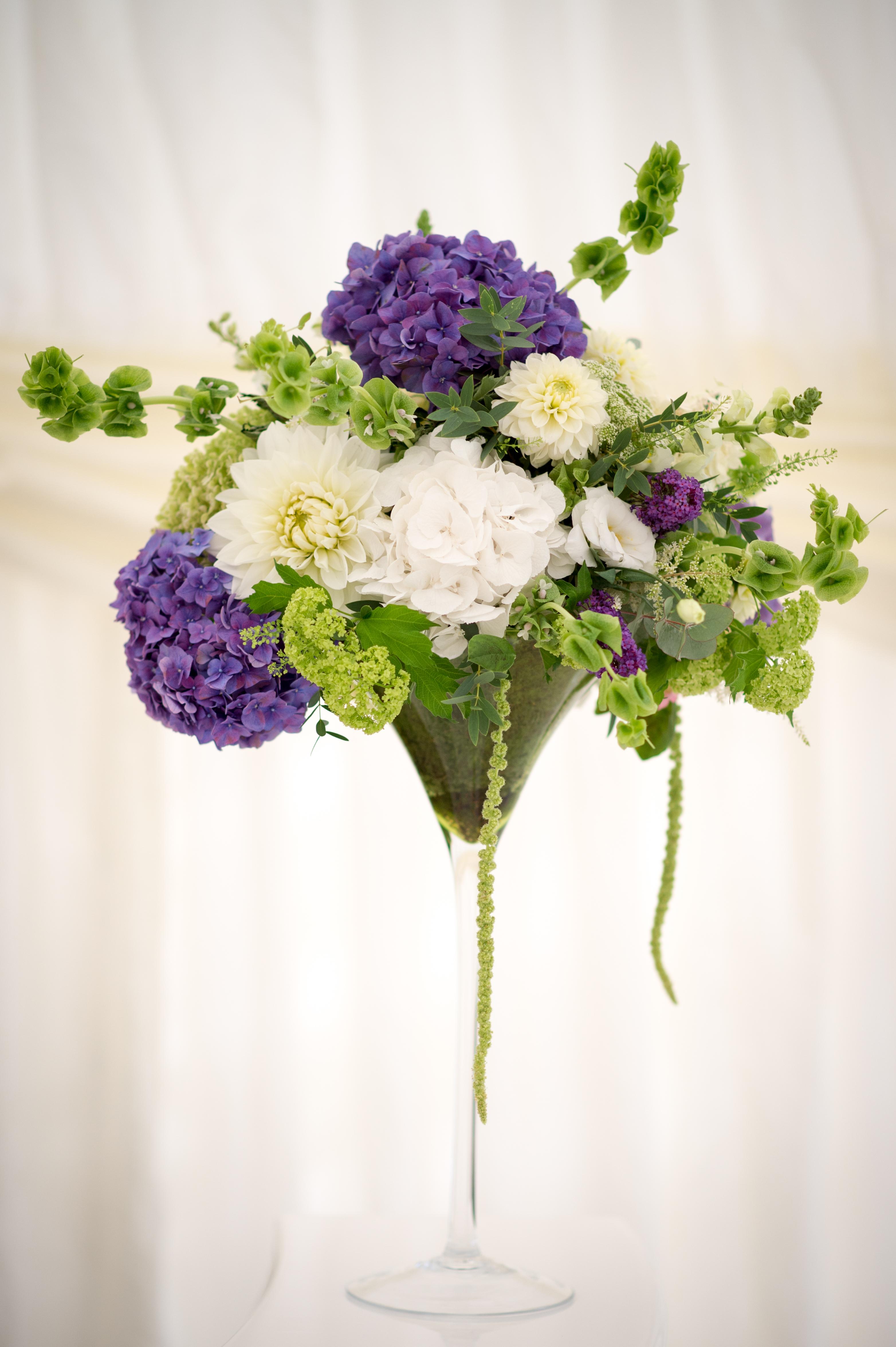 Turvey House wedding flowers