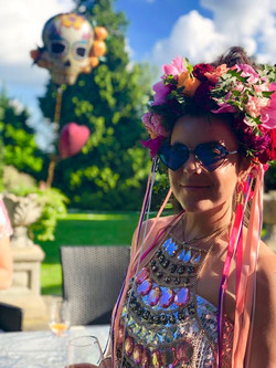 Festival flower crown