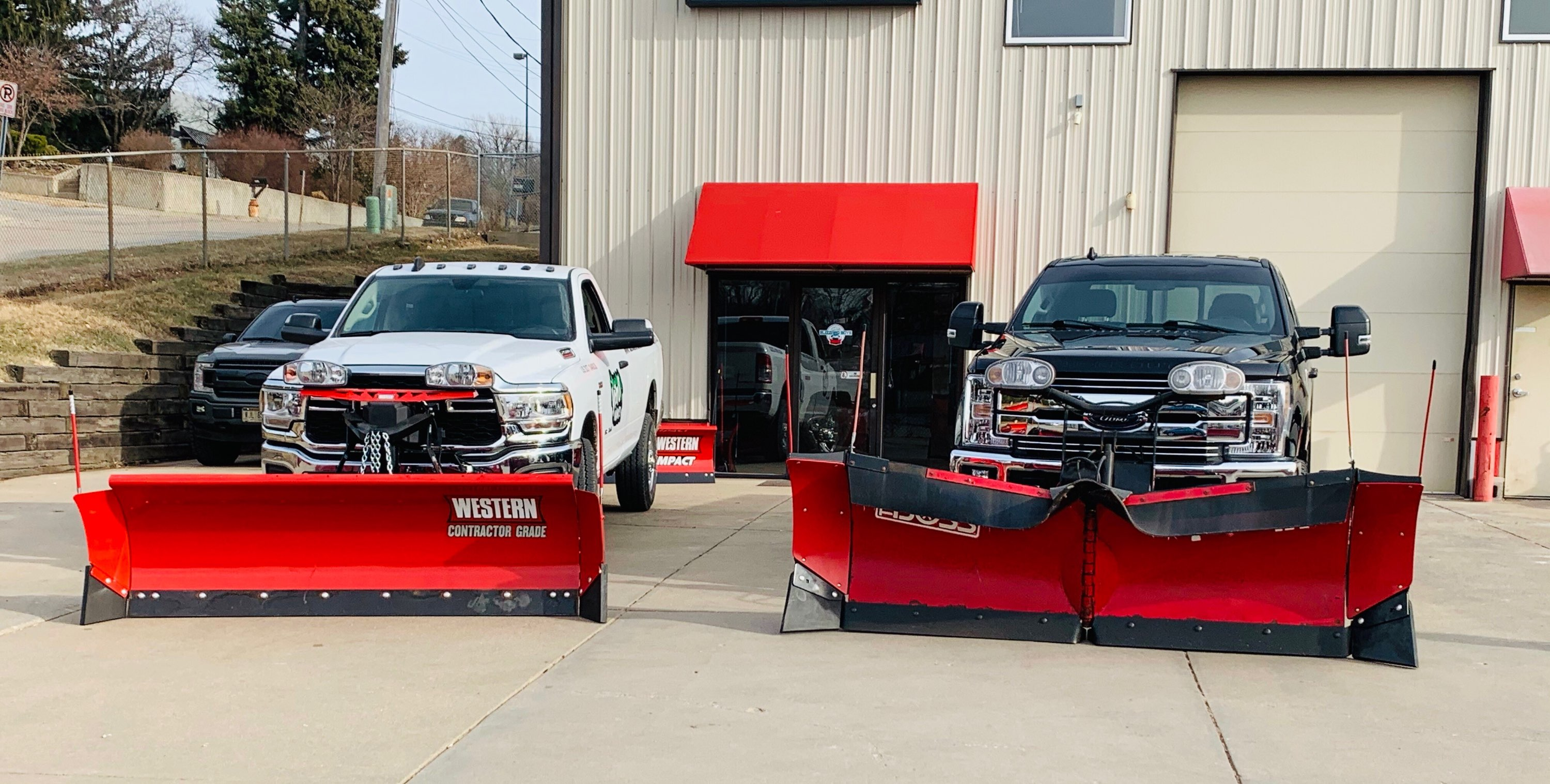 Blizzard Boys Truck, Trailer, & Snow Removal Equipment