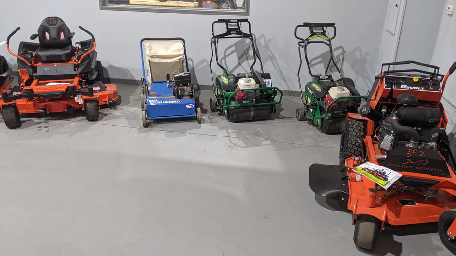 Rent Lawn Care Equipment