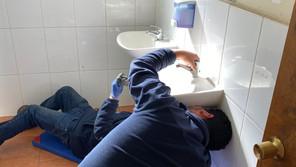 El Arrozal mejora sus baños y camarines