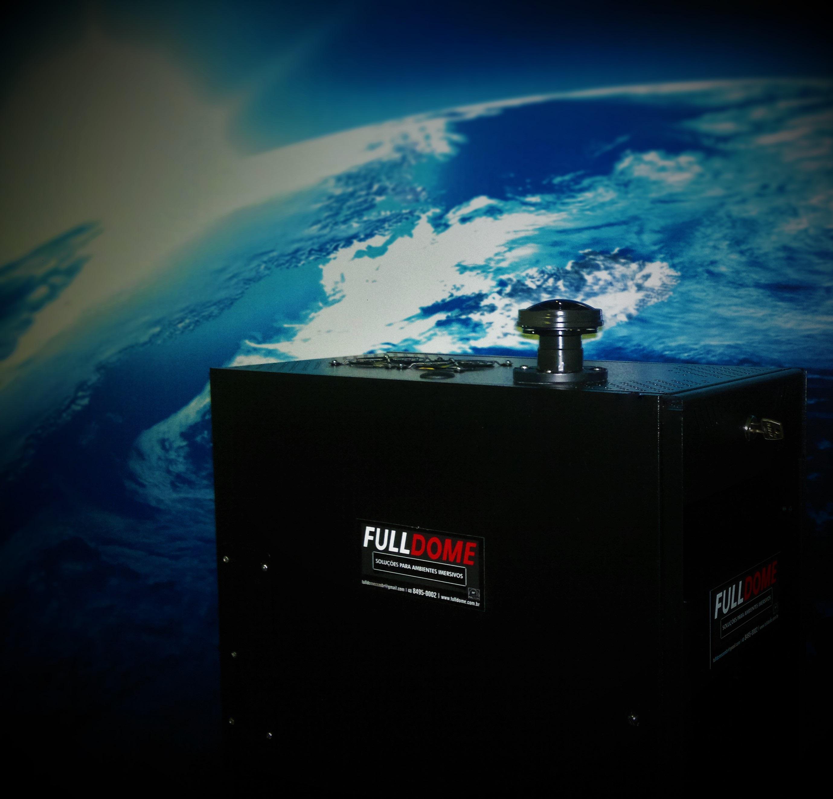 Projetor Fulldome Terra II
