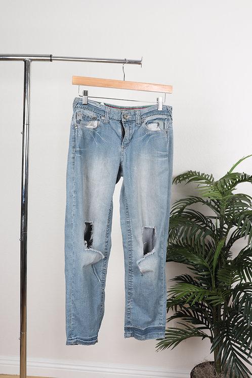 Boyfriend Ripped Jeans | 1