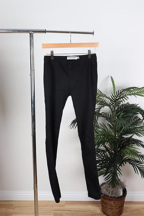 Plain Black Skinny Jeans | Sm