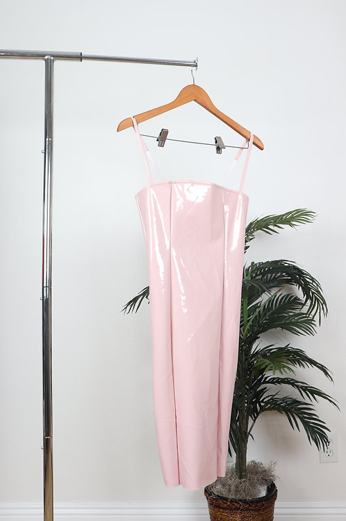 Shiny Light Pink Dress | Sm