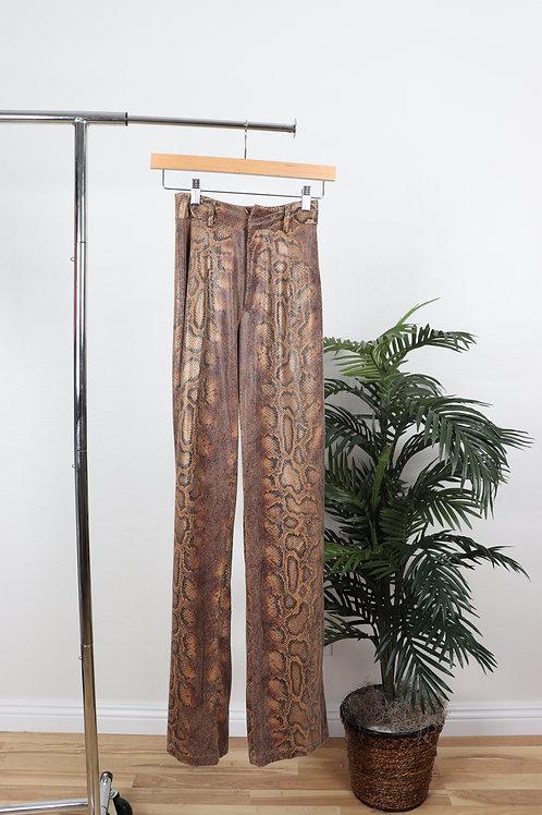 Snake Skin Pants    2