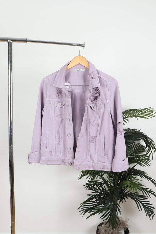 Light Purple Jean Jacket | Sm