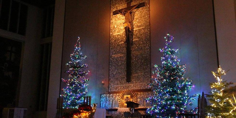 Msze święte w okresie Bożego Narodzenia