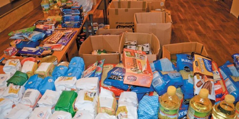 Paczki żywnościowe - Caritas parafialna