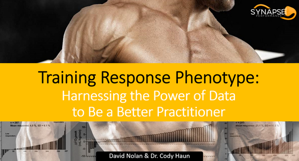 Training Response Phenotype: Harnessing the Power of Data to Be a Better Practitioner