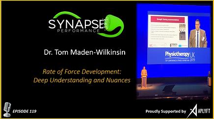 Dr. Tom Maden-Wilkonson