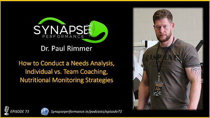 Dr. Paul Rimmer TRA