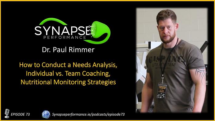Dr. Paul Rimmer