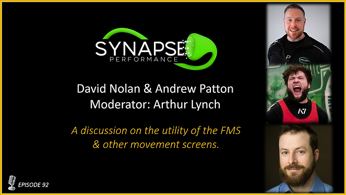 Andrew Patton & David Nolan, Moderated by: Arthur Lynch