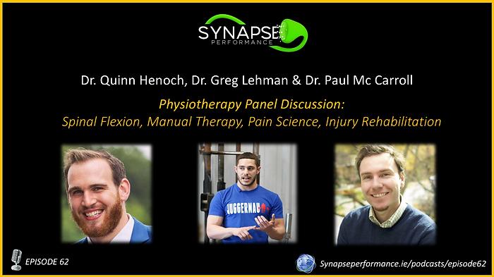 Dr. Quinn Henoch, Dr. Greg Lehman & Dr. Paul McCarroll