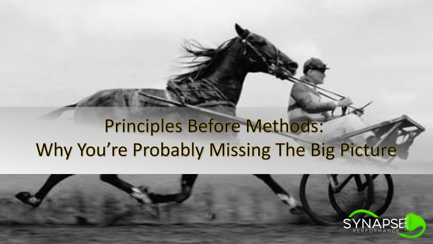 Principles Before Methods: Why You're Probably Missing The Big Picture