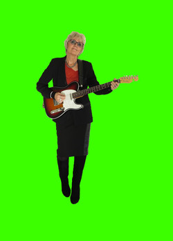 Sue on Green