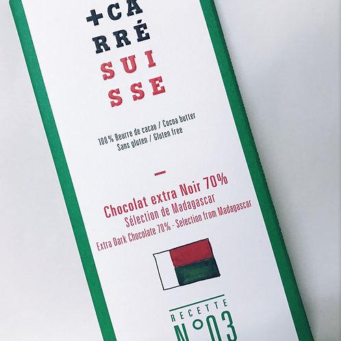 Chocolate Negro 70% +Carre Madagascar