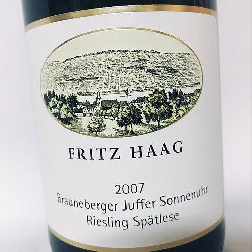 Fritz Haag Brauneberger Sonnenuhr Spatlese 07
