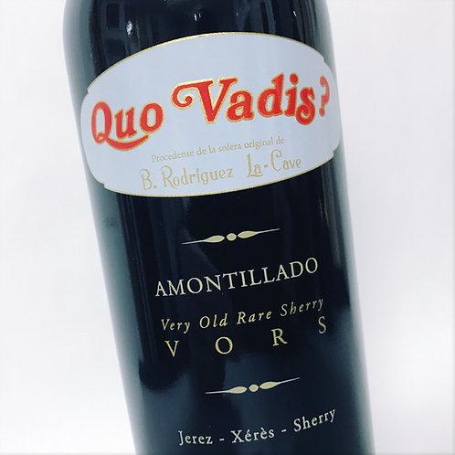 Delgado Zuleta Amontillado Quo Vadis Vors