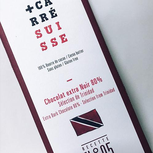 Chocolate Negro + Carre 80% Trinidad