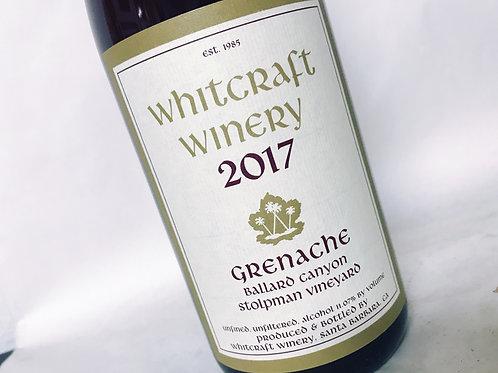 Whitcraft Stolpman Grenache 2017