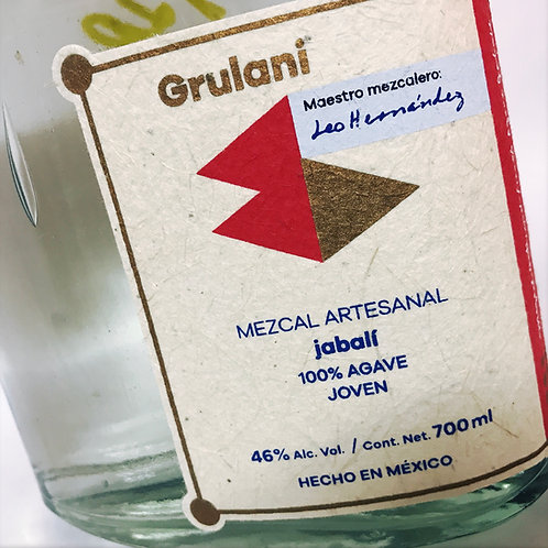 Grulani Mezcal Artesano Jabali