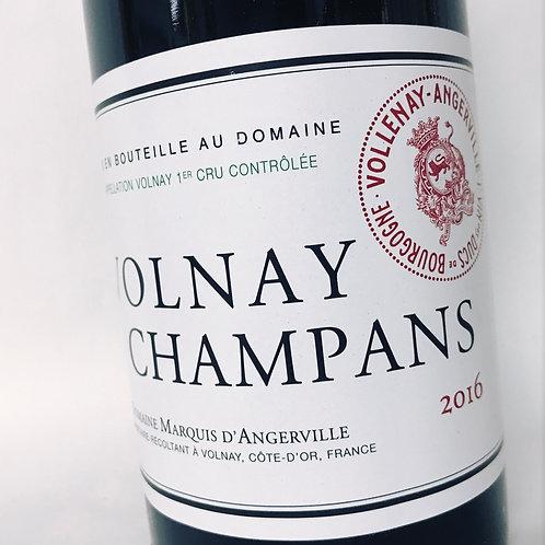 M. de Angerville Volnay Champans 16