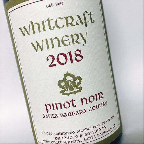 Whitcraft Santa Barbara 18 Pinot Noir