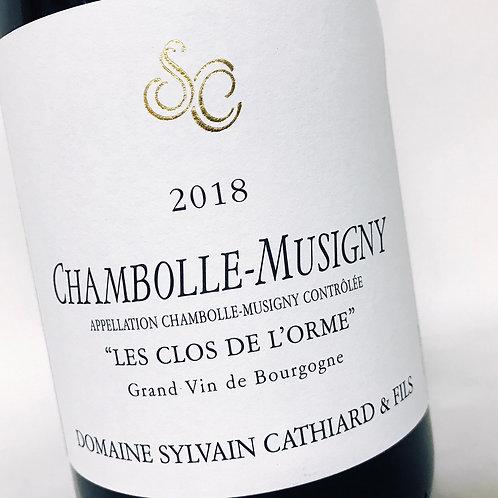 Sylvain Cathiard Chambolle M. Les clos de l' Orme 18