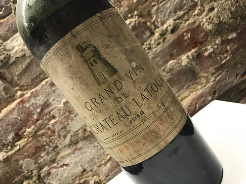 Latour 1918 (bad capsule, and cork,not drinking)