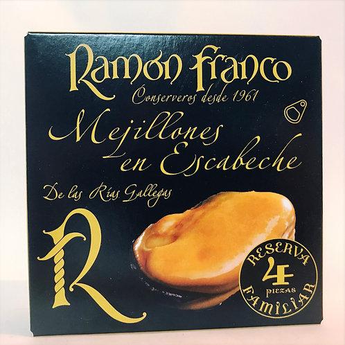 Mejillones Ramon Franco 4 Piezas Reserva Familiar