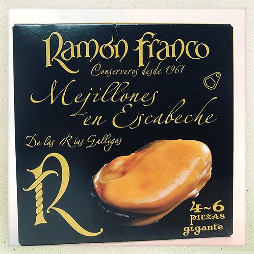 Mejillones Ramon Peña 4-6 Piezas Gigantes