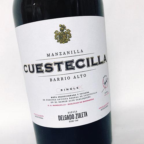 Delgado Zuleta Manzanilla Cuestecilla single cask 30 años