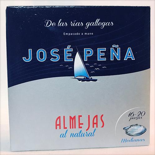 Almejas Jose Peña 16-20 piezas