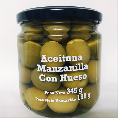 Aceituna Manzanilla con hueso