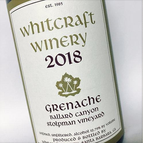 Whitcraft Stoplman Grenache 18
