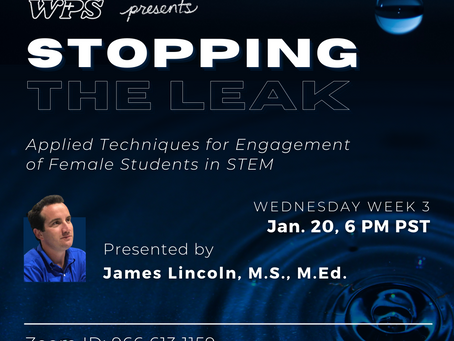Stopping the Leak: Presentation by James Lincoln, Winter 2020