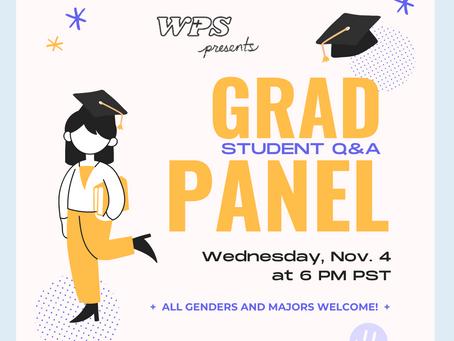 Graduate School Panel Fall 2020