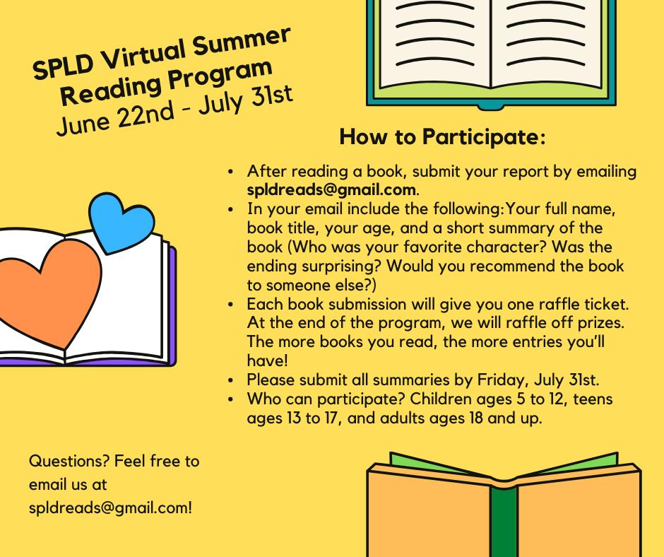 Virtual Summer Reading