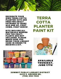 Terra Cotta Planter Paint Kit