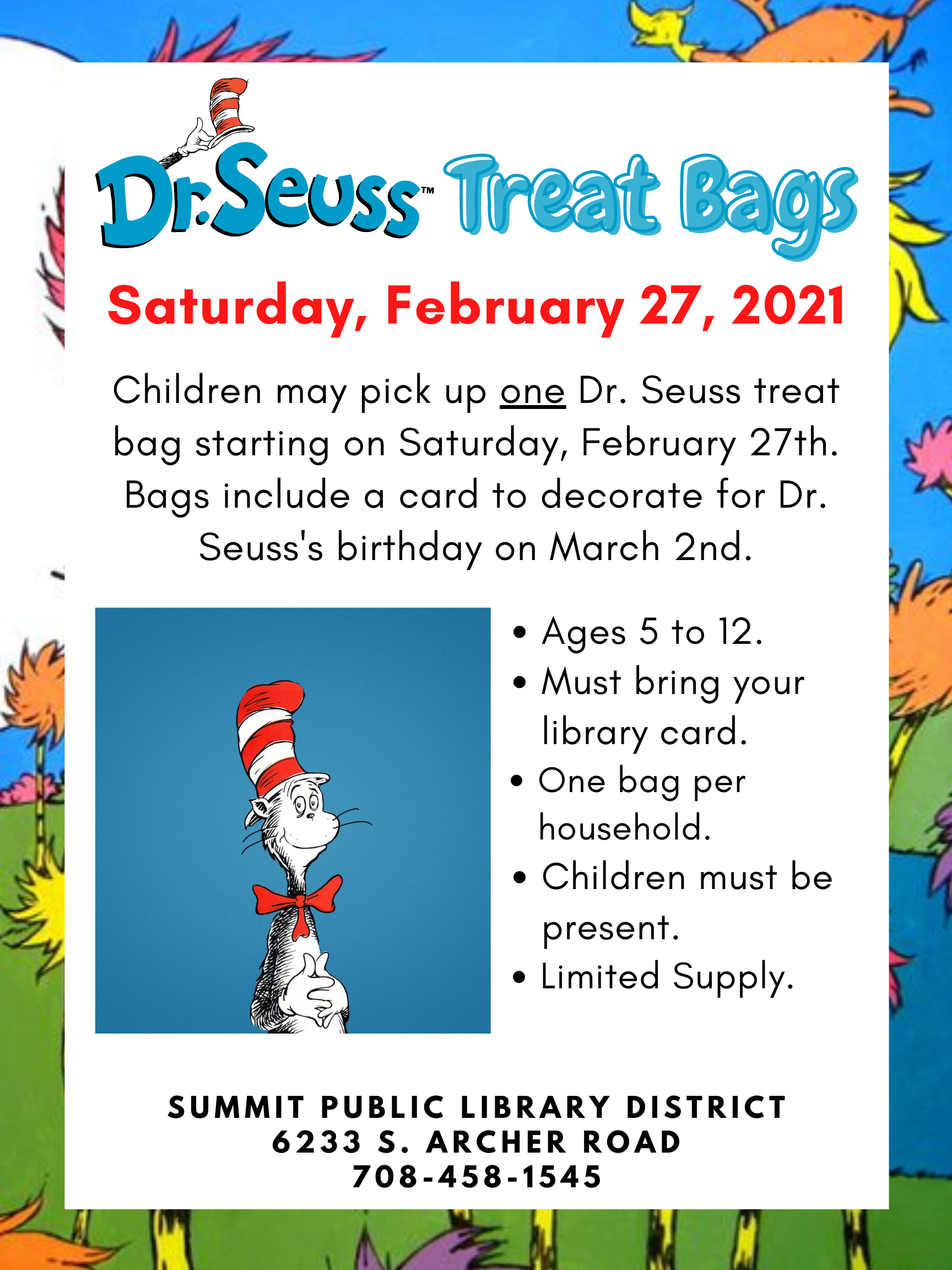 Dr. Seuss Treat Bag