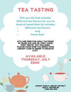 Tea Tasting Kit