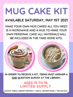 Mug Cake Kit