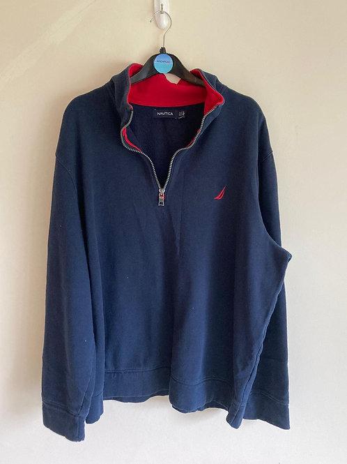 Vintage Nautica 1/4 zip  jumper