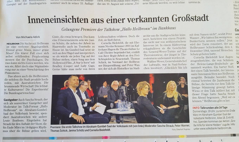 Heilbronner Stimme zu Hallo Heilbron